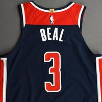 Bradley Beal - Washington Wizards - Kia NBA Tip-Off 2020 - Game-Worn Statement Jersey - Scored Game-High 31 Points