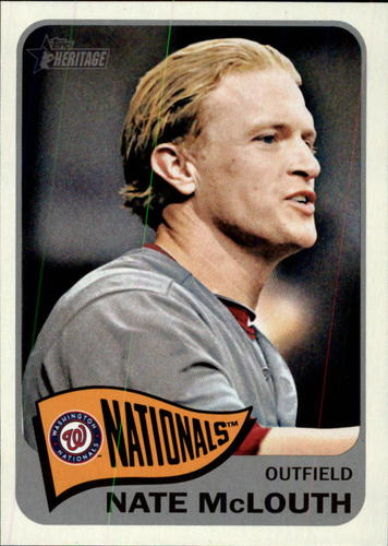 Photo of 2014 Topps Heritage #385 Nate McLouth