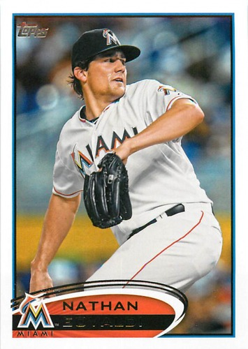 Photo of 2012 Topps Update #US33 Nathan Eovaldi