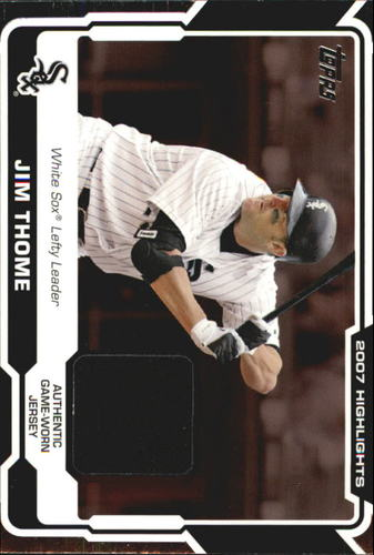 Photo of 2008 Topps Highlights Relics #JT Jim Thome C2